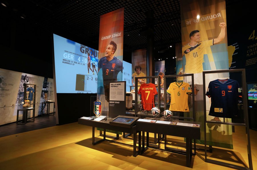 Brand Experience - FIFA Exhibition