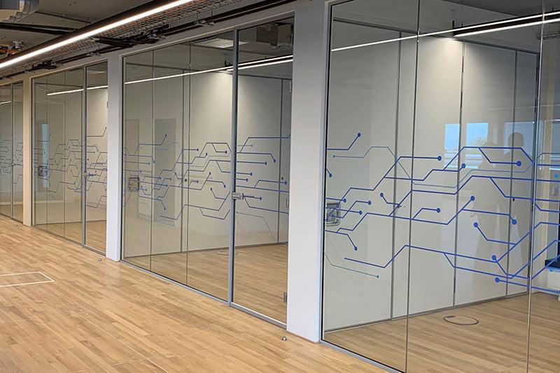 Interieurbouw voor Huawei Ismaning - door Hypsos