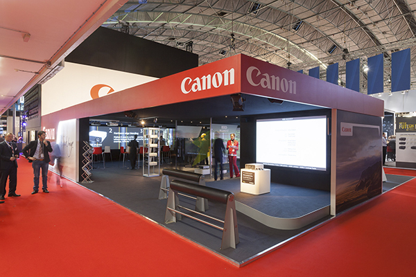 Canon at IS Europe