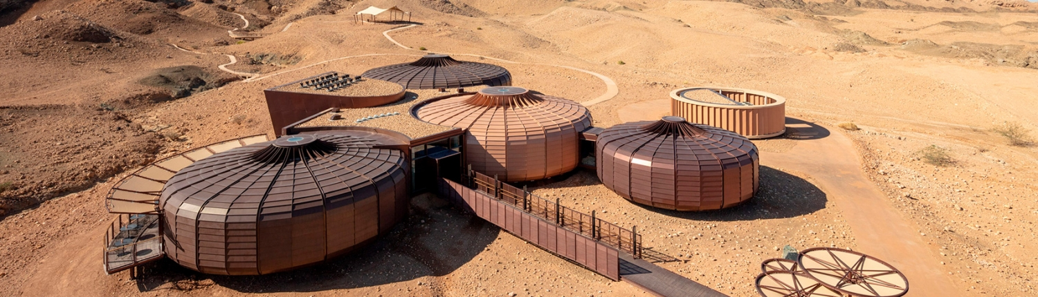 Museum fit-out for Jebel Buhais Geology Park Sharjah - by Hypsos